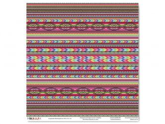 Folha para SCRAPBOOK 30,5X32,1 - Modelo GEOMÉTRICO 004