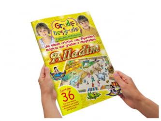 Álbum Mágico - Alladim - Cenário grande