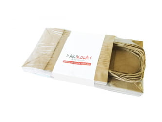 Sacola Kraft - Ref01 - 18x8x26