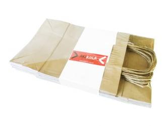 Sacola Kraft - Ref02 - 25x11x35