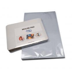 Combo - Mouse Pad em Branco para Sublimação 21x15cm 10un + 10 Folhas de Papel Transfer A4