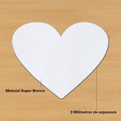 Mouse Pad Em Branco Para Sublimação - Coração